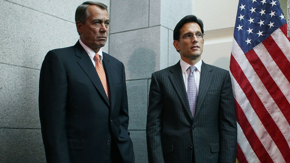 The top two Republicans in the House -- Speaker John Boehner, left, of Ohio and Majority Leader Eric Cantor of Virginia -- both support military action in Syria. They will be key in negotiating language and may influence votes in their skeptical caucus.