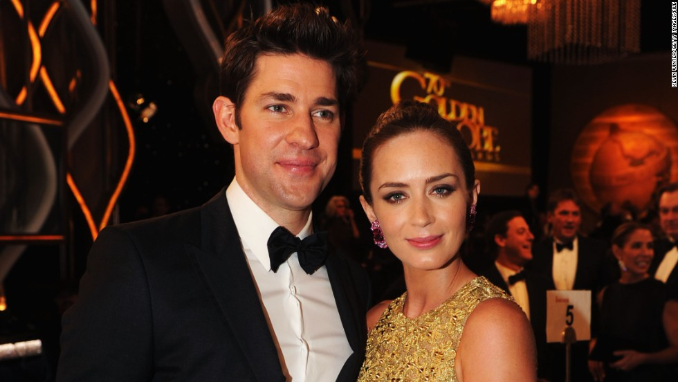 "You don't often hear much about John Krasinski and his wife, Emily Blunt. The pair didn't confirm they were a couple until they became engaged in 2009. ""The Office"" star announced via Twitter in February that his wife had given birth to their daughter."