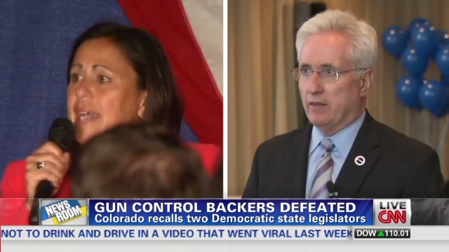 Gun control backers defeated