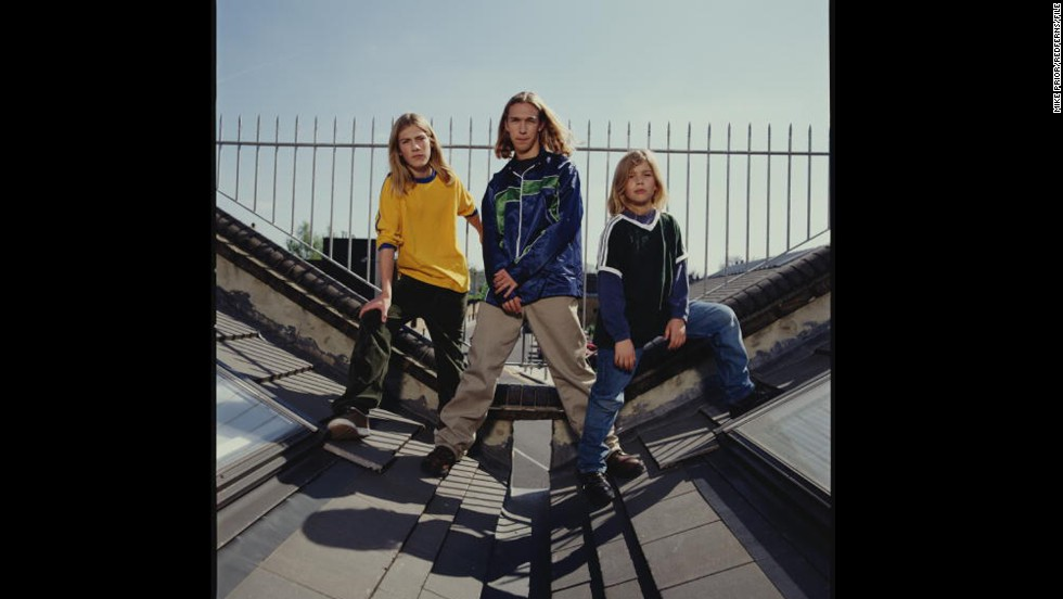 "The three Hanson brothers ""MMMBop""ed their way into pop culture and many a young girl's heart. They may be married dads now, but they haven't forgotten how good the '90s were to them; <a href=""http://marquee.blogs.cnn.com/2011/12/01/hanson-to-release-mmmhop-ipa/?iref=allsearch"" target=""_blank"">they crafted a beer</a> named after their biggest hit."