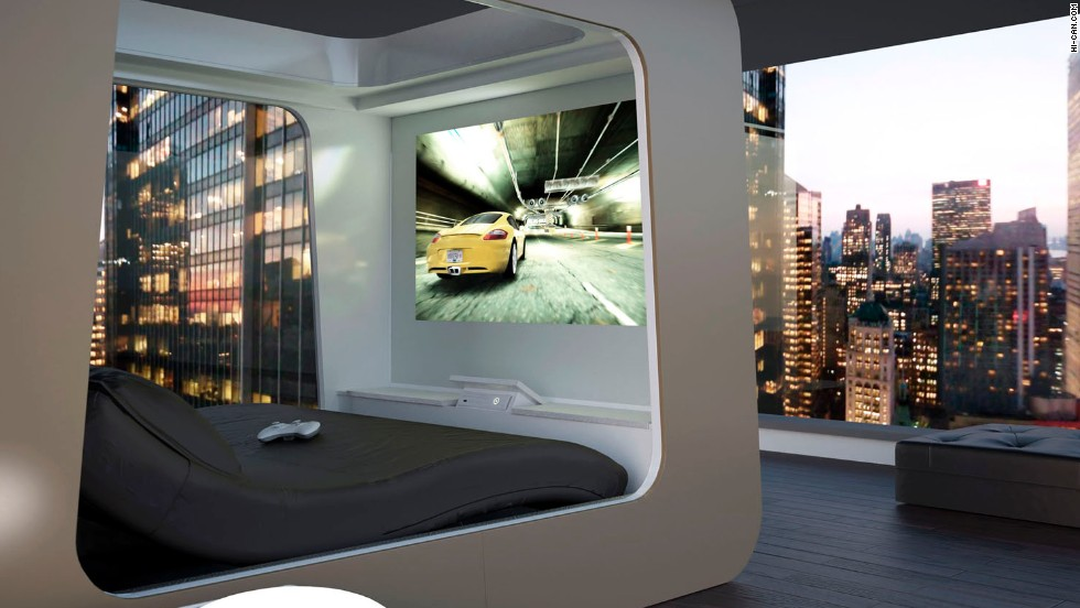 "Look out, ""Jetsons"" -- here we finally come. The technological revolution has influenced so many parts of our lives, and the ""smart home"" is the next big trend. <a href=""http://www.hi-can.com/"" target=""_blank"">This Hi-Can bed</a> has automatic shades, a built-in HD projector and full wireless capacity to control other devices in your home. Click through the gallery to see nine more whiz-bang marvels:"