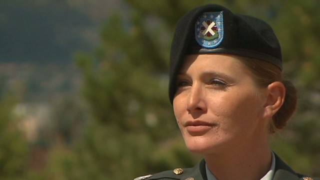 Soldier tells her story of sexual assault