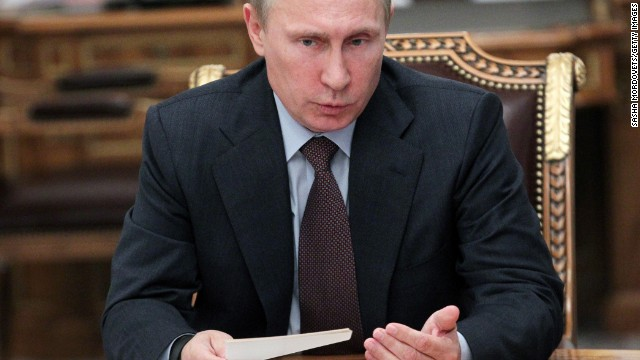 "Russian President Vladimir Putin warned a U.S. strike would throw the international system ""out of balance."""