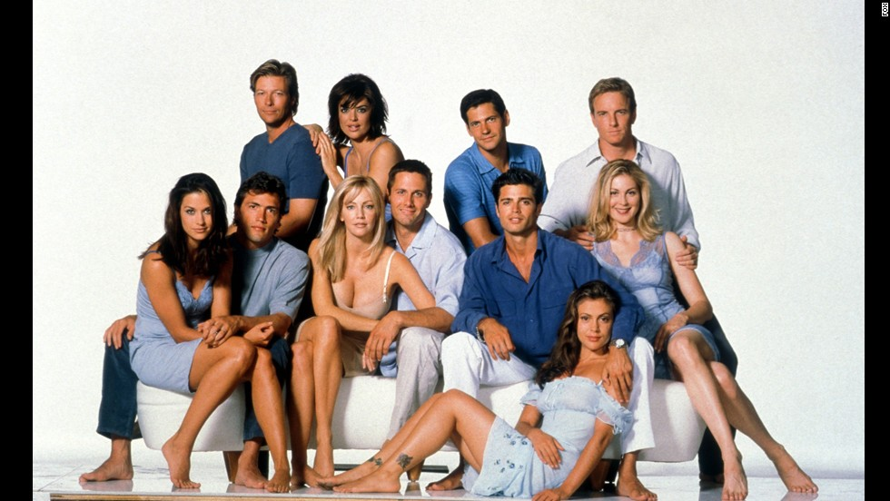 "In some circles, ""Melrose Place"" was considered the adult version of ""Beverly Hills, 90210"" -- which is pretty crazy if you knew the real ages of some of the ""90210"" actors at the time."