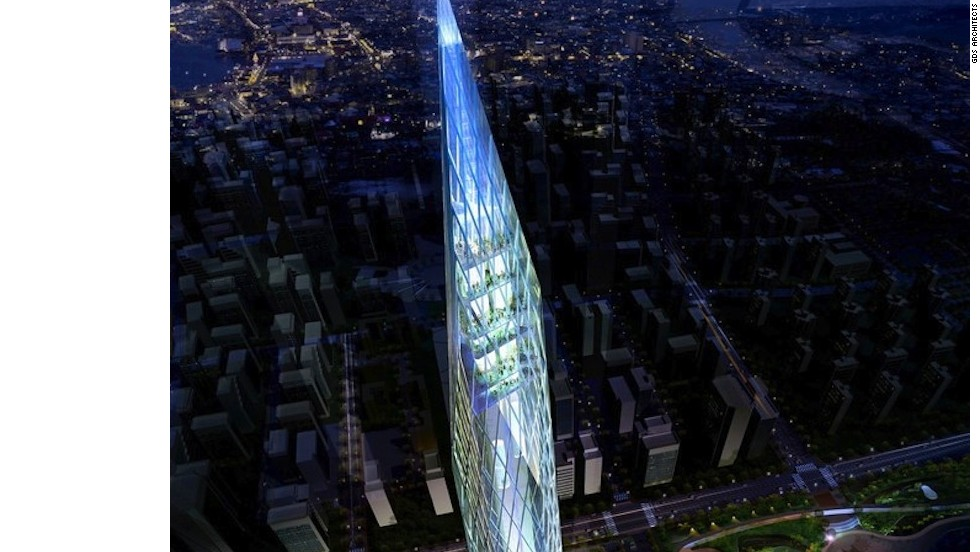 """Instead of symbolizing prominence as another of the world's tallest and best towers, our solution aims to provide the world's first invisible tower, showcasing innovative Korean technology while encouraging a more global narrative in the process,"" says Charles Wee, design principal for GDS Architect."
