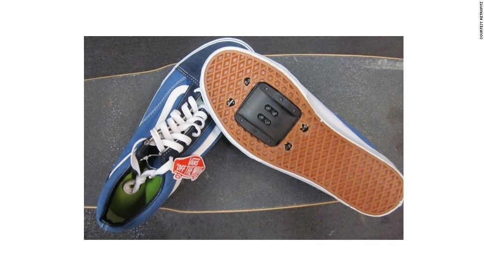 """With <a href=""""http://www.retrofitz.com/"""" target=""""_blank"""">Retrofitz</a>'s DIY cycle shoes kit you no longer need to look the part to be the part. Now (according to Retrofitz) you can easily insert a plate into your everyday sneakers to keep your feet in place while you zip around the city."""