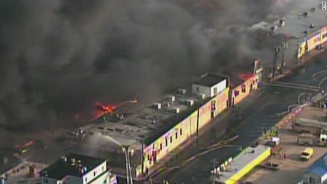 6-alarm fire erupts on NJ boardwalk
