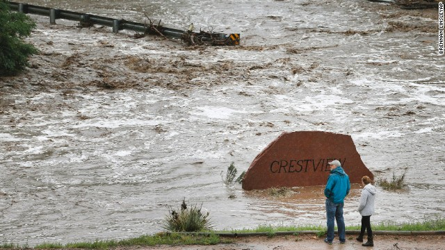 'Biblical' rain overwhelms Colorado