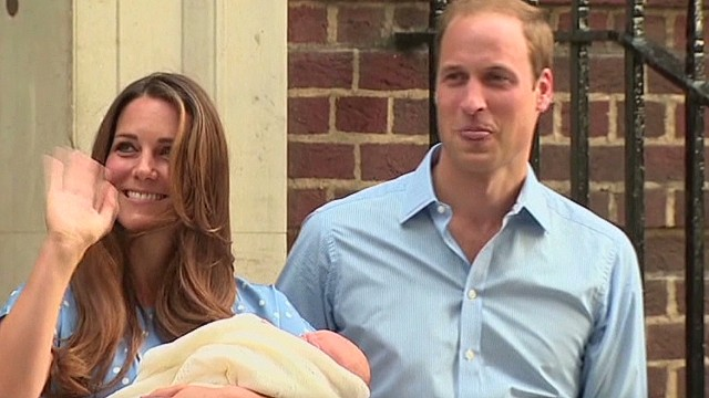 Duke and Duchess of Cambridge step out