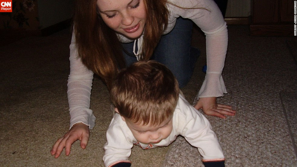 """Since he was a baby, we have created and preserved our own special traditions for each holiday,"" Crookston said. ""I feel very lucky that I get to experience these memories with Samuel one-on-one instead of having to 'share' myself."""