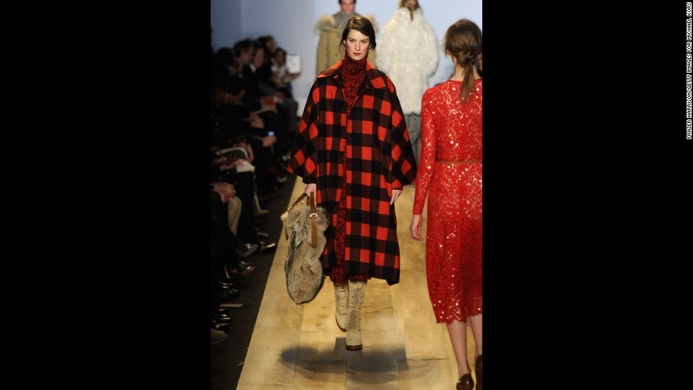 Michael Kors' fall 2012 fashion show during New York Fashion Week in February 2012.