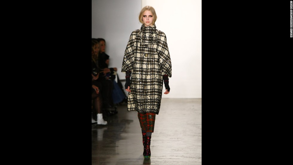 The Libertine fall 2012 show during New York Fashion Week in February 2012.