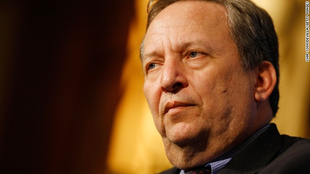 WASHINGTON - APRIL 09: Lawrence Summers, Director of President Barack Obama's National Economic Council, participates in a question-and-answer session during a luncheon with the Economic Club of Washington at the J.W. Marriott April 9, 2009 in Washington, DC. Summers spoke to the club about the current state of the nation's economy and the Obama administration's efforts to address the crisis. (Photo by Chip Somodevilla/Getty Images)