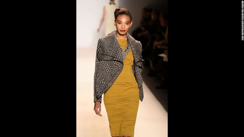 Lela Rose's fall 2012 fashion show during New York Fashion Week in February 2012.