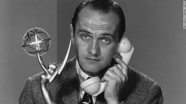 11TH ANNUAL PRIMETIME EMMY AWARDS -- Aired 05/06/1959 -- Pictured: Actor Bob Newhart -- Photo by: NBCU Photo Bank