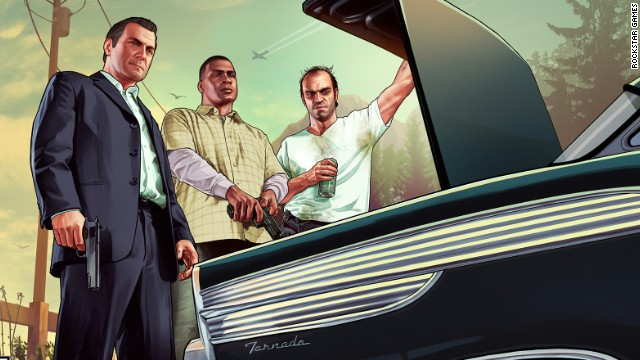 Gamers await 'Grand Theft Auto V'