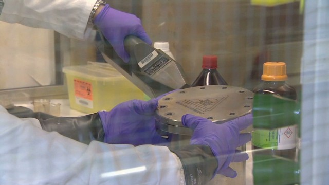 EXCLUSIVE: Inside chemical weapons lab