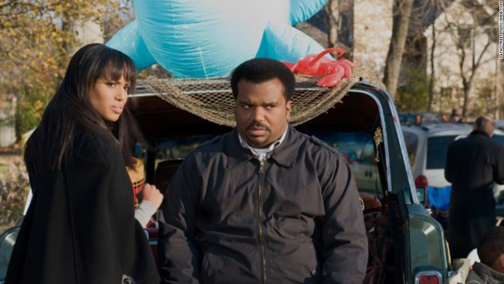 "The actress goes for laughs with Craig Robinson in the 2013 comedy ""Peeples."""