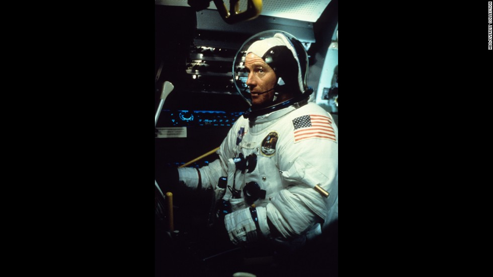 "Cranston has been cast as two real-life astronauts -- Gus Grissom and Buzz Aldrin. Here, he plays Aldrin in the 1998 miniseries ""From the Earth to the Moon."""