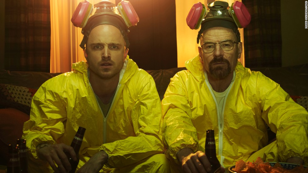 "With so many plot twists and the ongoing character development, AMC's ""Breaking Bad"" was a popular choice for binge-watching from beginning to end. Season 2 posed a problem for some, but ""if you can get over that season 2 hump, you'll probably enjoy it a lot,"" <a href=""http://www.reddit.com/r/AskReddit/comments/2llwhe/what_television_series_is_so_good_its_worth_binge/clw430j"" target=""_blank"">one Redditor said</a>."