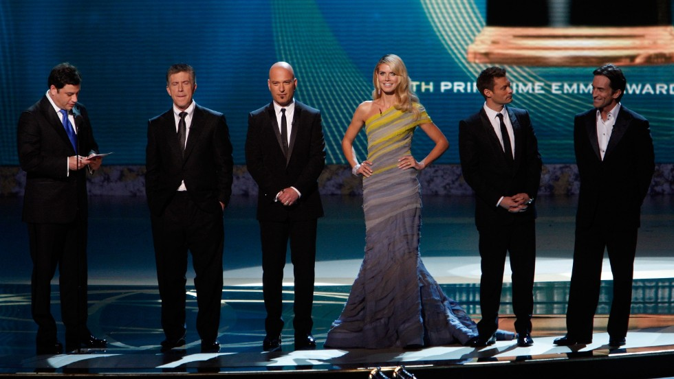 Kimmel joined Tom Bergeron, Howie Mandel, Heidi Klum, Ryan Seacrest and Jeff Probst to lead the 60th Primetime Emmy Awards in 2008. The audience did not love the group host dynamic, and the show was one of the lowest-rated telecasts ever.