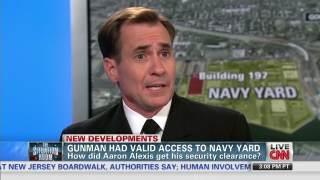 Spokesman: Navy gave shooter clearance