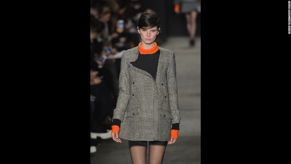 Rag & Bone's fall 2013 show during Mercedes-Benz Fashion Week in February.