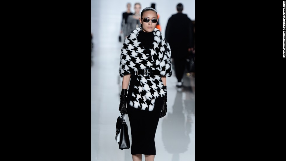 Michael Kors' fall 2013 show during Mercedes-Benz Fashion Week in February.