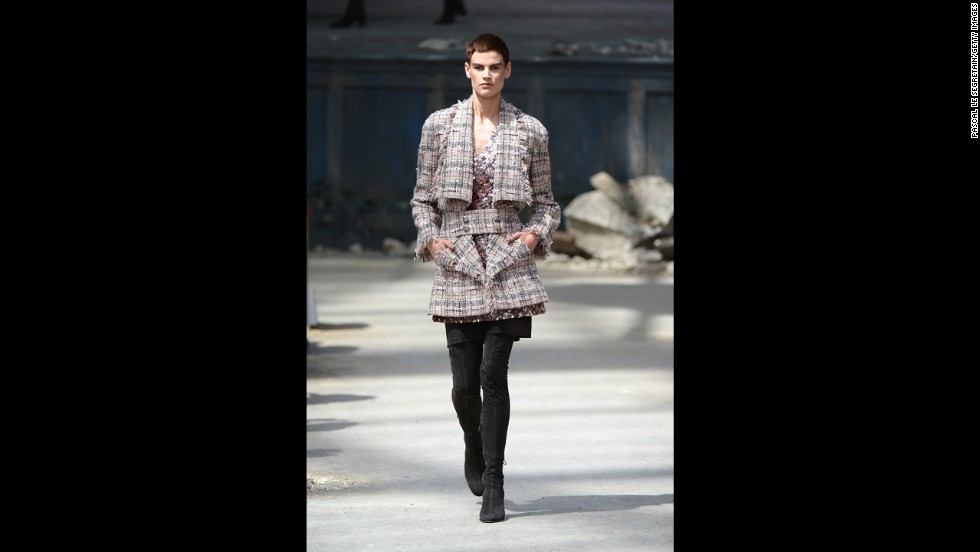 The Chanel Haute Couture fall/winter 2013-14 show at Paris Fashion Week in July.