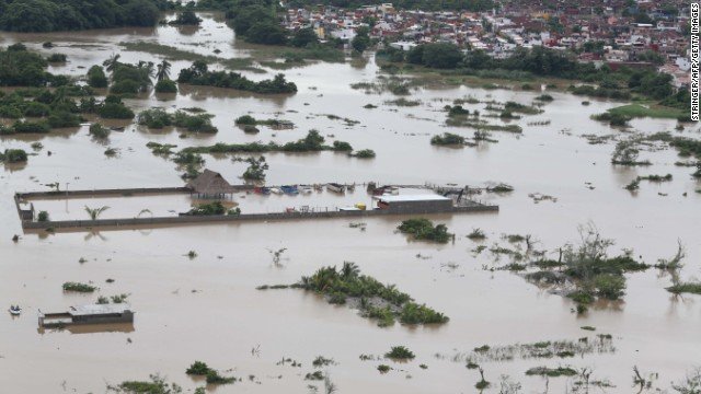 Mexico struggles with massive flooding