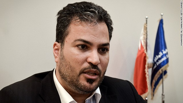 Khalil Al Marzooq is shown in his office in Manama, Bahrain, on December 9, 2012.