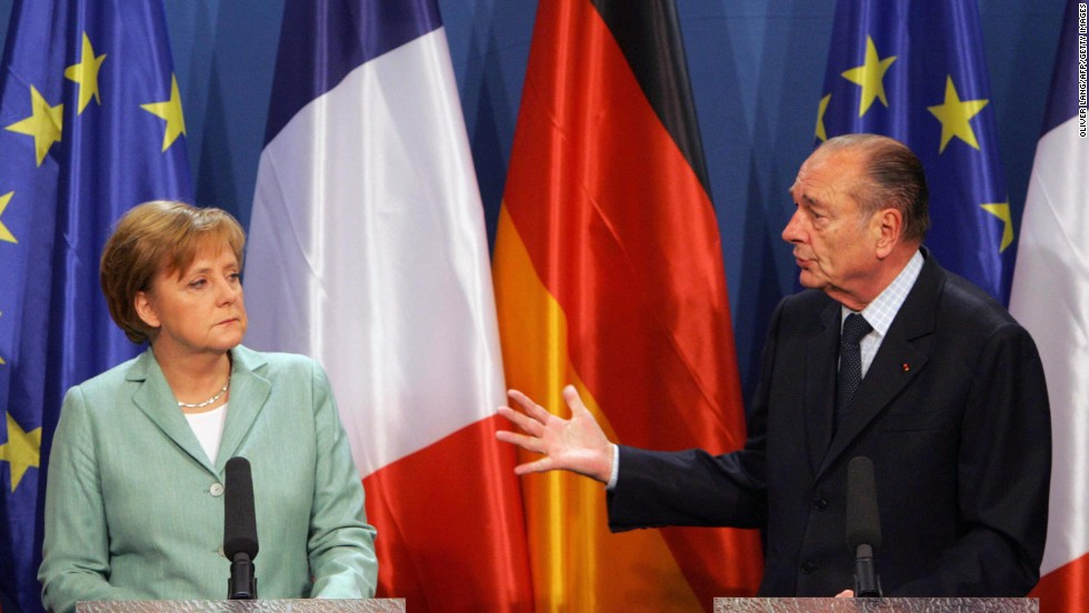 December 2005: Merkel takes part in her first big European summit. According to her biographer, she stayed at work until 3 a.m., making sure an agreement was reached.