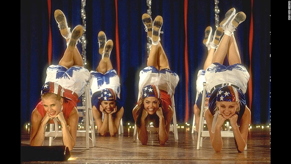 "Teenage beauty contestants can have fun too! In the tongue-in-cheek movie ""Drop Dead Gorgeous,"" they slap paint on their behinds during a dance routine."