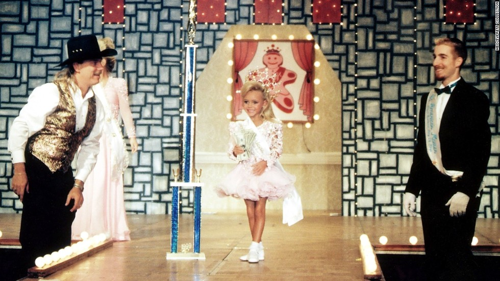 "HBO's 2001 documentary ""Living Dolls: The Making of a Child Beauty Queen,"" directed by Shari Cookson, shows the subculture of child beauty pageants by following 5-year-old beauty contestant Swan Brooner as she competes on the pageant circuit."
