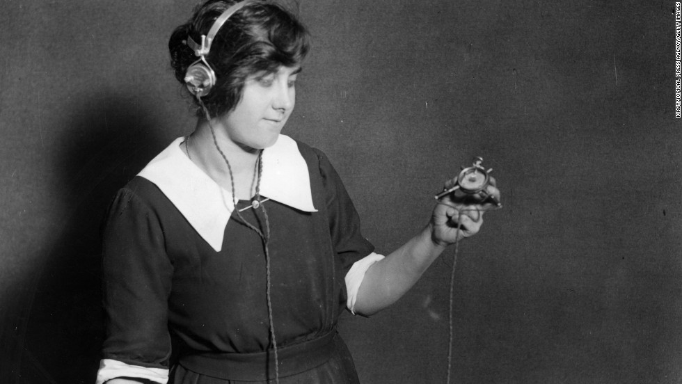 Wireless technology, pioneered by such figures as Nikola Tesla and Guglielmo Marconi, was first used for telegraph messages. Eventually, it was used to transmit voice, news, sports and music. People used crystal sets -- basic radio receivers -- to tune in broadcasters, though headphones were required because the signal was unamplified.