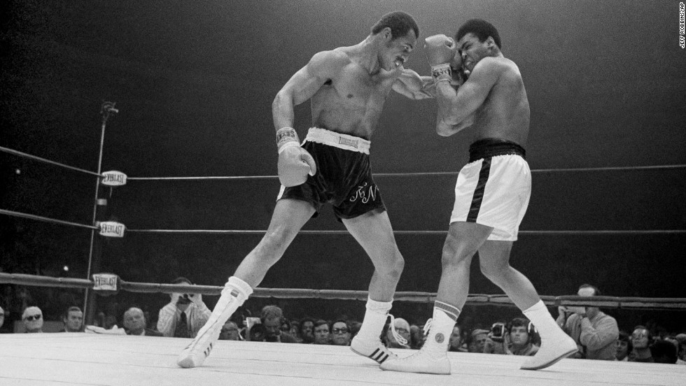 "Forty years after rising to the top of the boxing world and outdueling Muhammad Ali, <a href=""http://www.cnn.com/2013/09/18/us/ken-norton-dies/index.html"">Ken Norton</a>, left, died at a Nevada medical facility after a stroke on September 18. He was 70."
