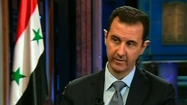Assad: We didn't agree because of threat