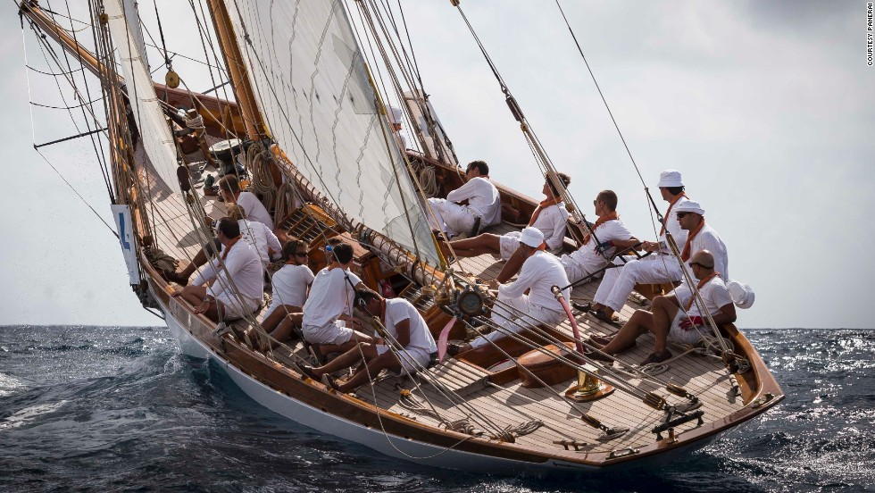 Around 3,000 sailors and 40,000 visitors descend on the glamorous French Riviera for the annual regatta, this year kicking off on September 24.