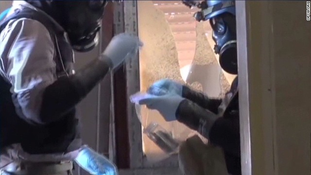 Syria meets first chemical weapons date