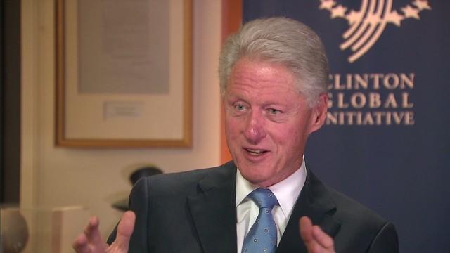 Clinton on Obama's power to strike Syria