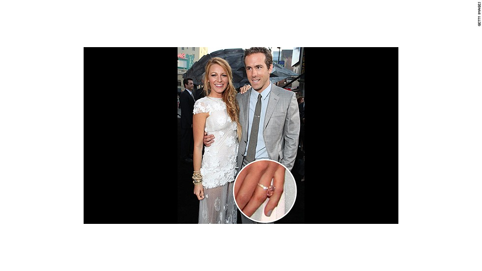 Though they managed to keep their engagement and wedding private, there's no way Blake Lively's Lorraine Schwartz diamond can go under the radar.<br />