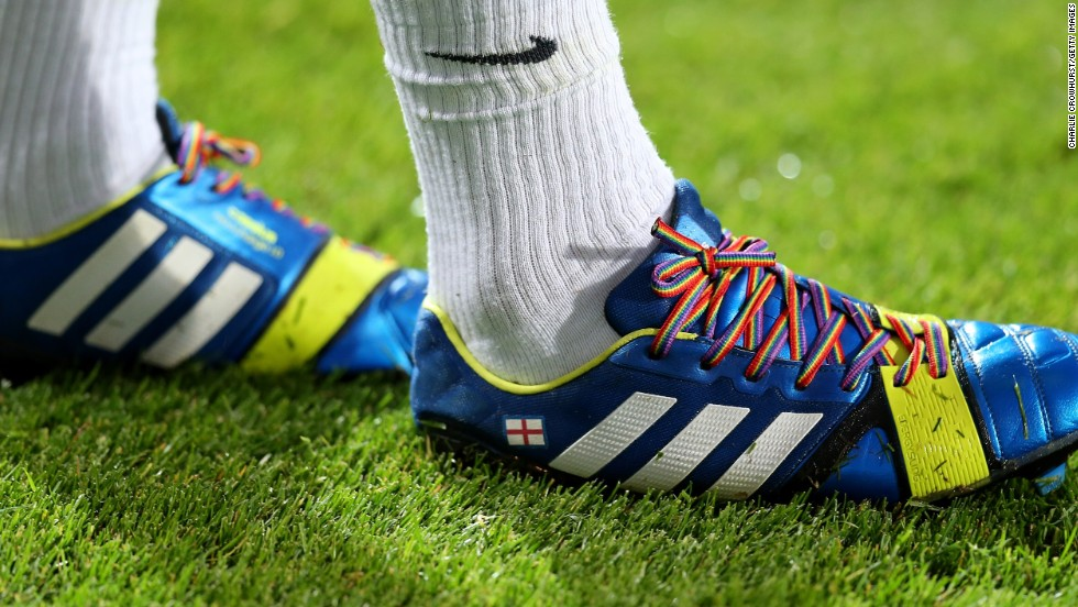 The rainbow laces campaign is at the forefront of football's fight against homophobia in the UK. Several high-profile players have backed the program by wearing the laces during Premier League matches.
