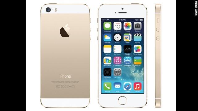 Want gold iPhone 5S? You must wait ...