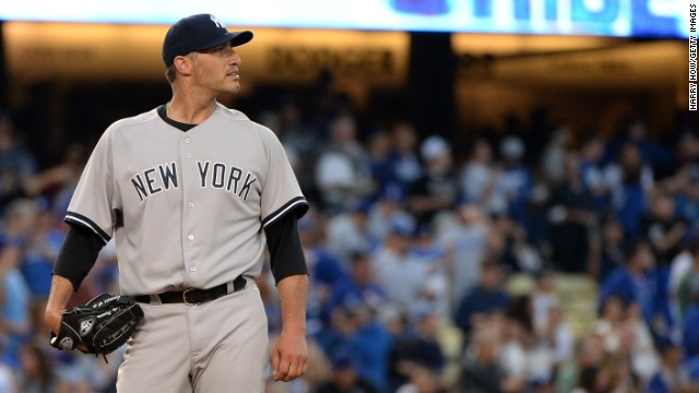 """I want all of our fans to know ... how grateful I am for their support throughout my career,"" Andy Pettitte says."