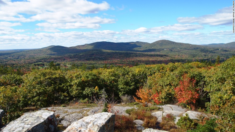Leaf lovers can hike or drive up to Maine's Mount Battie summit and admire the amazing views and changing fall colors. Nearby are local brews for visitors more interested in libations.