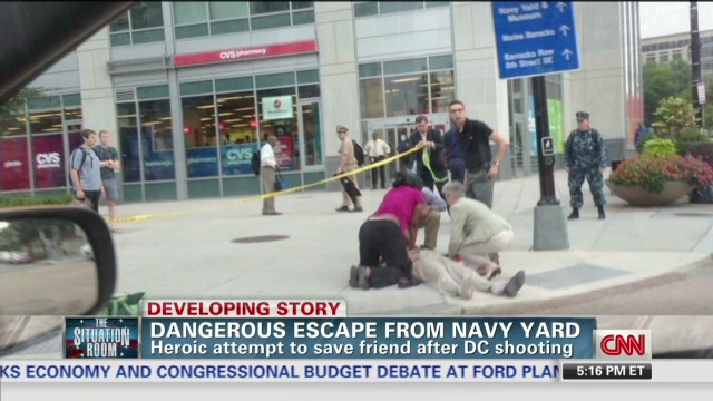 Hear dramatic Navy Yard rescue attempt