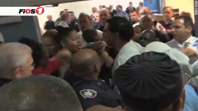 See Long Island courthouse brawl