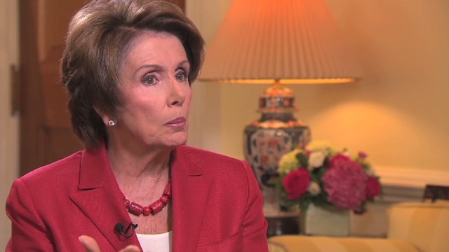Pelosi: The president was right on Syria