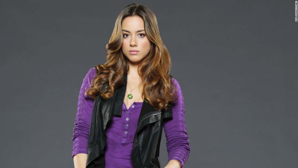 Chloe Bennet plays Skye, who in the first episode is a computer hacker out to expose S.H.I.E.L.D.'s secrets, but that may not last.