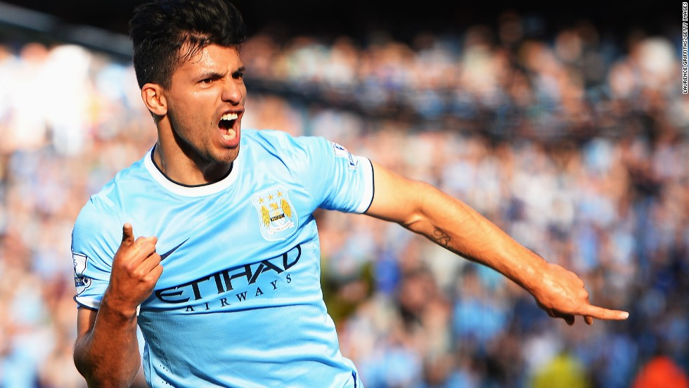 Aguero gave City the lead in the 16th minute with an exquisite volley.